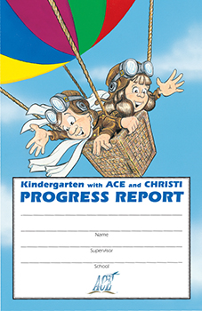 Kindergarten Progress Report Pkg 10