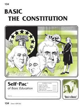 The Constitution Self-Pac 134