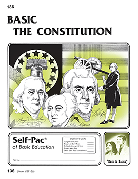 The Constitution Self-Pac 136