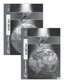 Origins and Science Key Set 1-10