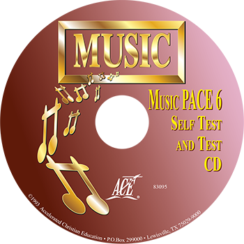Music PACE 6 Self Test/Test CD